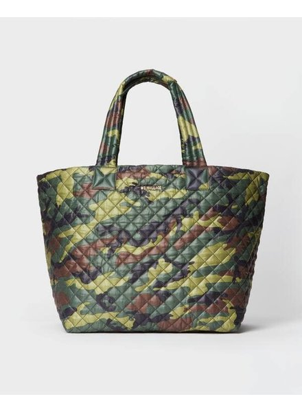 MZ Wallace METRO TOTE DELUXE LARGE GREEN CAMO