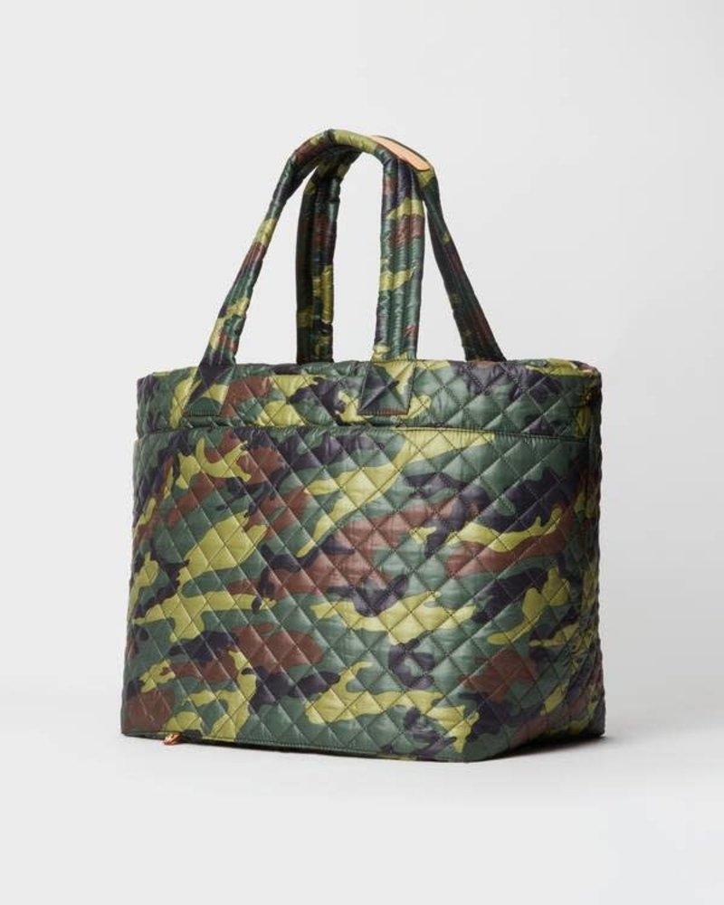 MZ Wallace MZ WALLACE METRO TOTE DELUXE LARGE GREEN CAMO