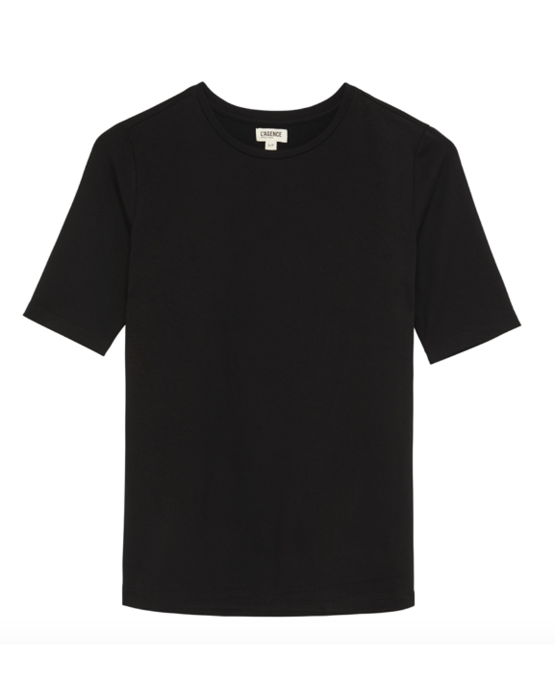 L'Agence L'AGENCE CASEY 3/4 SLEEVE TOP
