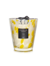 Baobab Candles MAX 16 CITRINE PEARLS