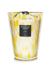 Baobab Candles MAX 24 CITRINE PEARLS