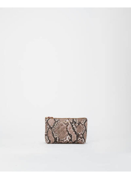 MZ Wallace ZOEY COSMETIC BROWN SNAKE