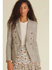 VERONICA BEARD VERONICA BEAC MILLER DICKEY JACKET WITH ELBOW PATCH