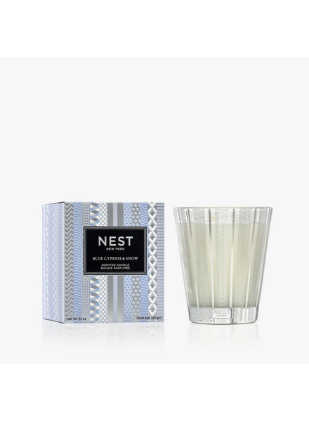 NEST CLASSIC CANDLE 8 0Z. BLUE CYPRESS