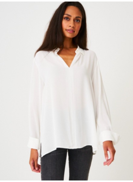 REPEAT 600436 LONG SLEEVE BUTTON DOWN