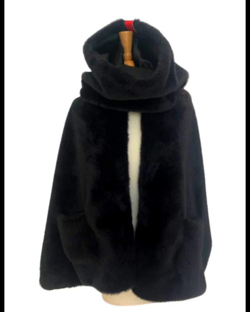 PRETTY RUGGED GEAR PRETTY RUGGED GEAR 3 IN 1 BLACK COWL NECK