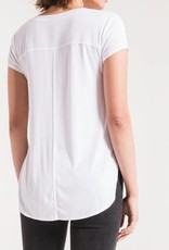 Z SUPPLY SHOP The Mya V Neck Tee