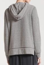 Z SUPPLY SHOP The Stripe Soft Spun Knit Hoodie