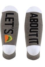 SOCKART Lets Taco About It Socks