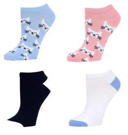 SOCKART Cat Socks 4 Pair