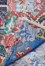 JOHNNY WAS Patchwork Cozy Blanket