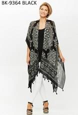 PAPARAZZI The Tassel Bandana Kimono