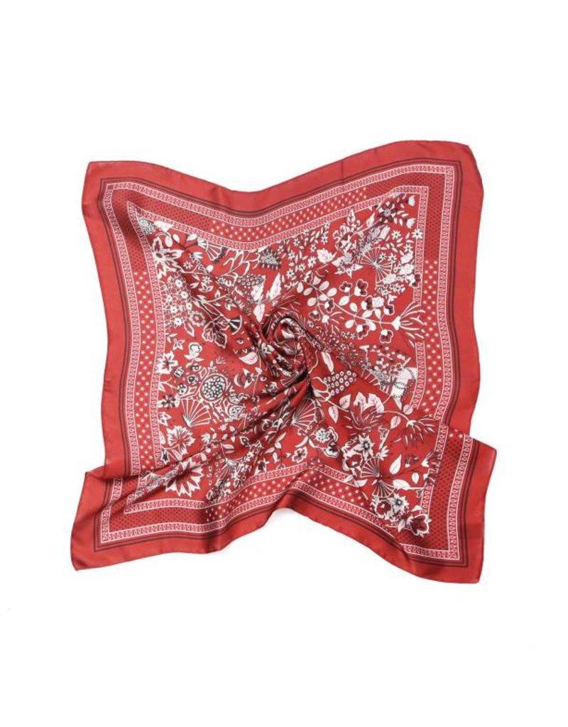 KW FASHION CORP Floral Silky Bandana