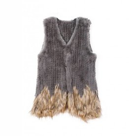KW FASHION CORP Faux Fur Vest