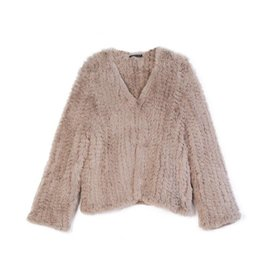 KW FASHION CORP Faux Fur Cropped Jacket