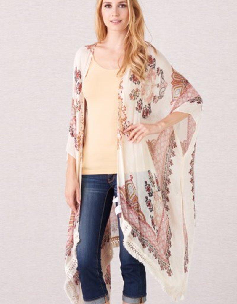 PAPARAZZI The Gypsie Fringe Kimono