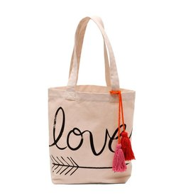 ALE BY ALESSANDRA Love Canvas Tote
