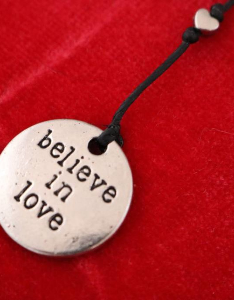 TRADES BY HAIM SHAHAR Believe in Love Necklace