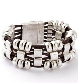 TRADES BY HAIM SHAHAR The Megan Bracelet