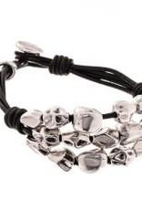 TRADES BY HAIM SHAHAR The Lisa Leather Bracelet