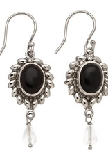 TRADES BY HAIM SHAHAR Onyx Earrings