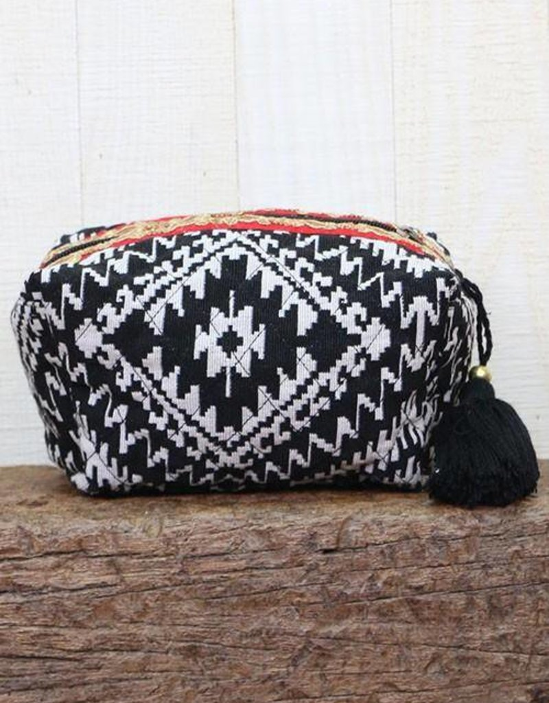 LOVESTITCH Quilted Ikat Origami Bag