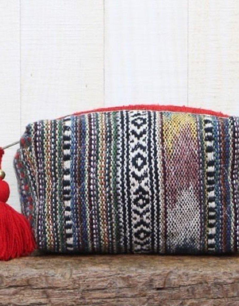 LOVESTITCH Multi Yarn Stripe Origami Bag