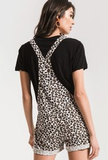 Z SUPPLY SHOP The Multi Leopard Short Overall