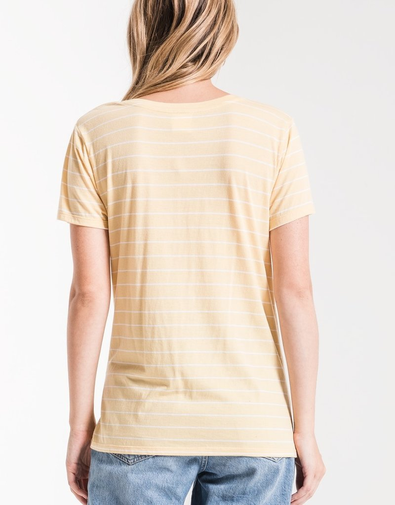Z SUPPLY SHOP The Lucca Twist Front Tee