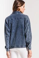 Z SUPPLY SHOP The Knit Denim Jacket