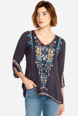 JOHNNY WAS Maya Embroidered Blouse