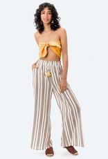 LOVESTITCH Noemi Stripe  Wide Leg Pant