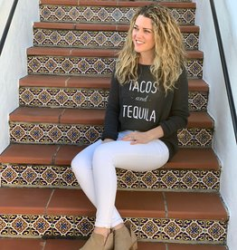 WOODEN SHIPS Tacos & Tequila Crew Sweater