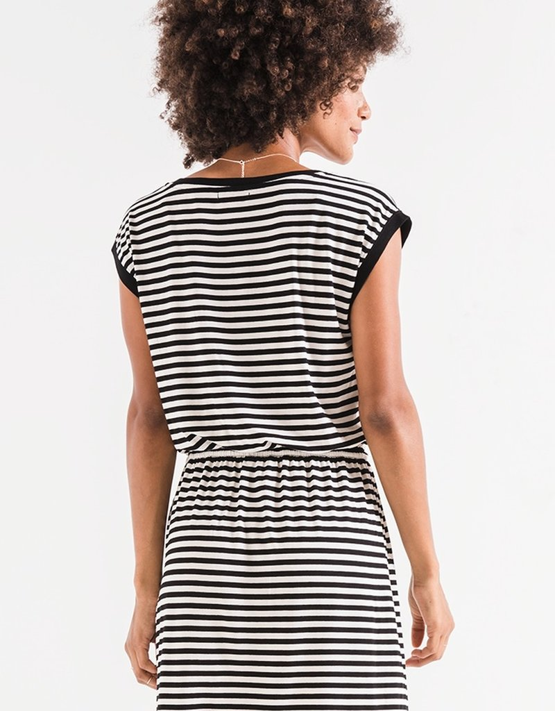 Z SUPPLY SHOP The Striped Shirred Dress