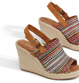 TOMS Woven Monica Wedge