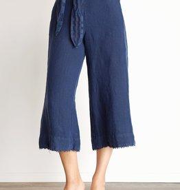 BELLA DAHL Belted High Waisted Crop Pant