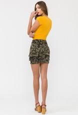 KANCAN Bowery Camo Skirt