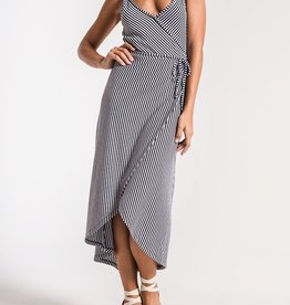 Z SUPPLY SHOP Capri Wrap Midi Dress