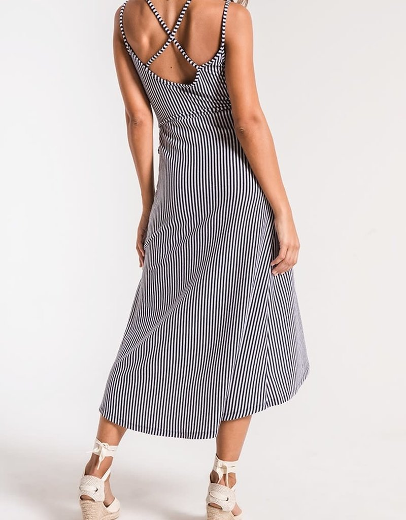 Z SUPPLY SHOP Capri Wrap Midi Dress