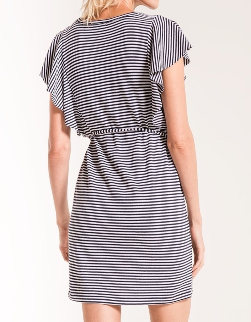 Z SUPPLY SHOP The Capri Ruffle Sleeve Dress