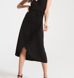Z SUPPLY SHOP The Solid Wrap Dress