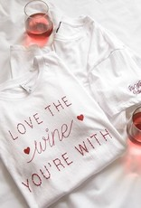 Z SUPPLY SHOP Love the Wine You're With Tee