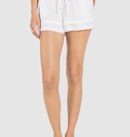 BELLA DAHL SHOP Fray Hem Flowy Shorts