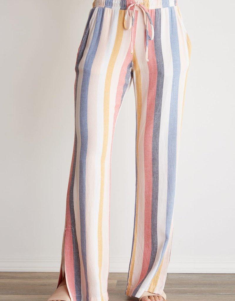 BELLA DAHL Side Slit Wide Leg Pant