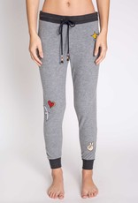 P J  SALVAGE Peace & Love Jogger