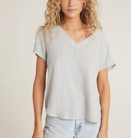 BELLA DAHL SHOP V Neck Short Sleeve Shirt (More Colors Available)