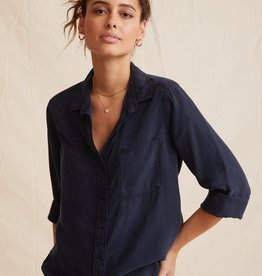 BELLA DAHL SHOP Shirt Tail Button Down(More Colors Available)
