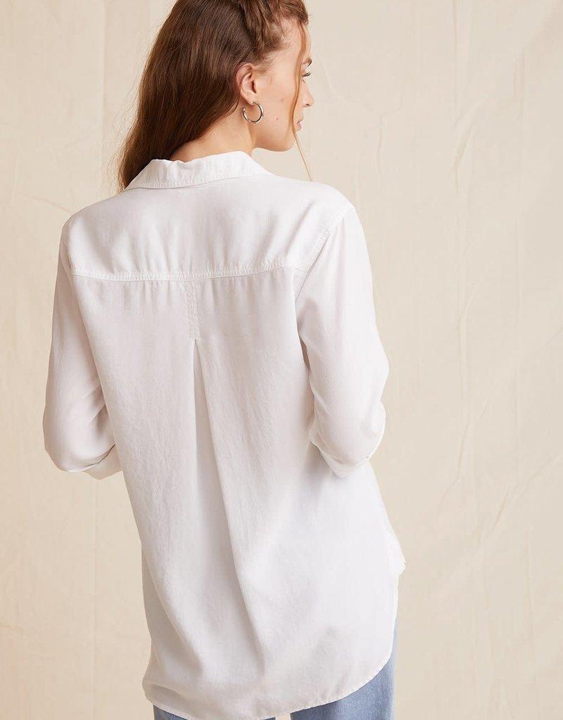 BELLA DAHL SHOP Shirt Tail Button Down Blouse