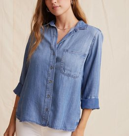 BELLA DAHL SHOP Shirt Tail Button Down