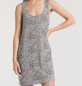 Z SUPPLY SHOP Mini Leopard Dress(More Colors Available)